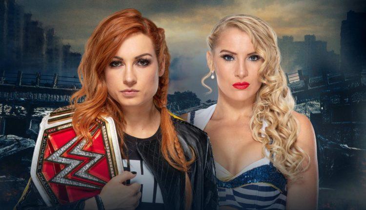 Becky Lynch vs. Lacey Evans