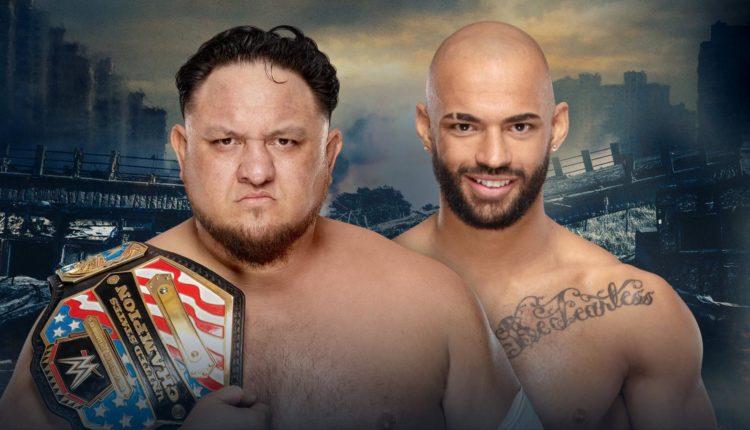 Samoa Joe vs. Ricochet