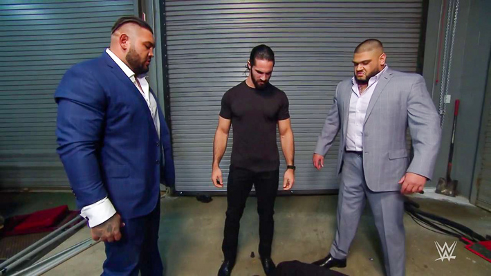 Seth Rollins & Authors Of Pain