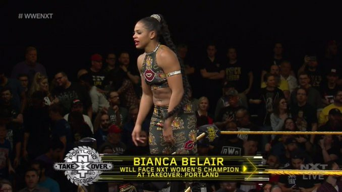 Bianca Belair Wins Battle Royal Will Contend For Nxt Womens
