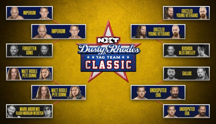Image result for dusty rhodes classic 2020 bracket