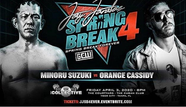 Orange Cassidy To Face Minoru Suzuki Over Wrestlemania Weekend