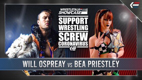 WrestleTalk Showcase: No Fans Monday A Huge Success Thanks To Will Ospreay
