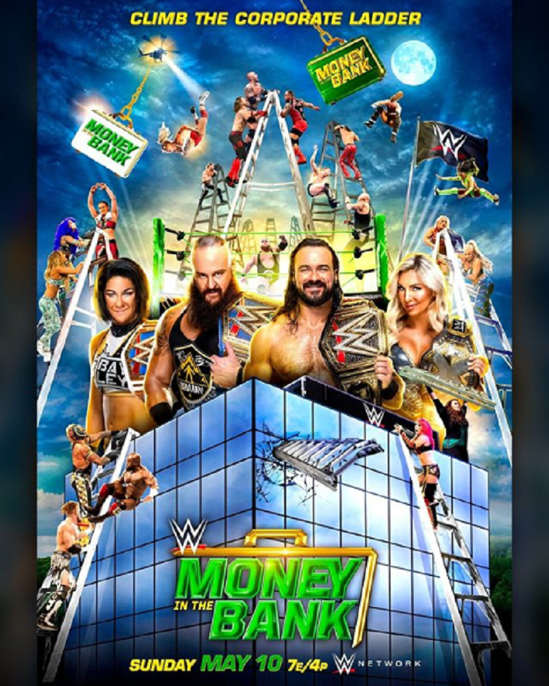 Wwe Money In The Bank Climb The Corporate Ladder The Overtimer