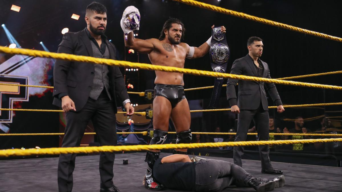 WWE NXT Results: El Hijo Del Fantasma Shows His True Nature - The ...