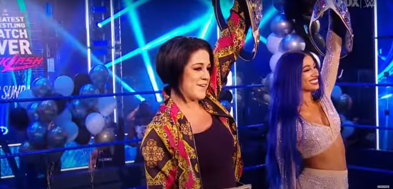 WWE Smackdown Preview (7/24) - The Golden Role Models (Bayley and Sasha Banks) to Address their Championships