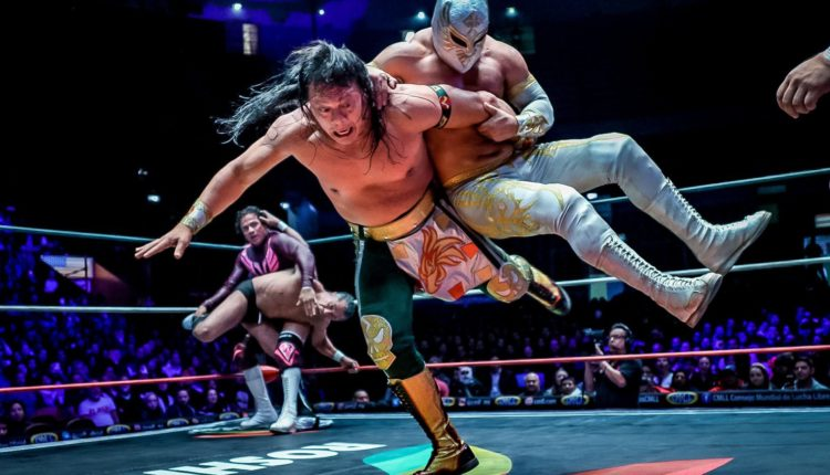 CMLL Ultimo Guerrero Caristico
