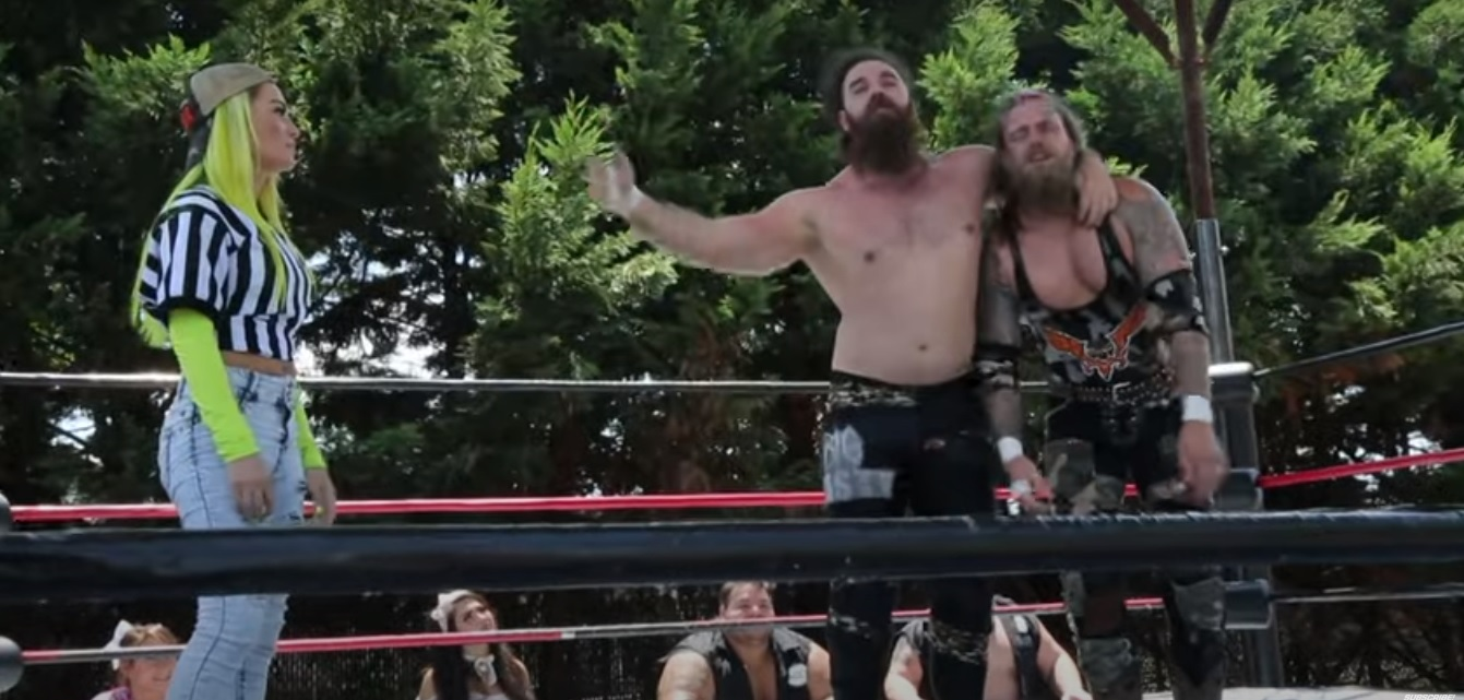 The Deaners on Wrestle House