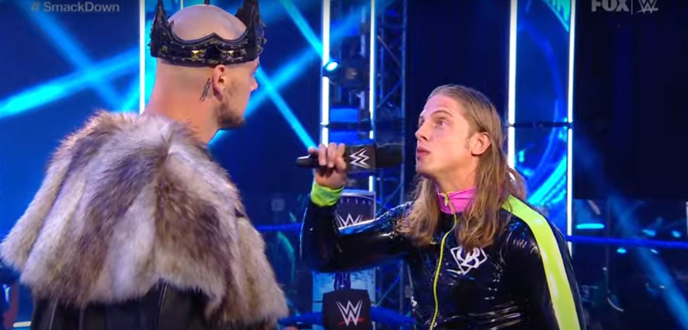 WWE Smackdown Recap (7/3) – King Corbin Interrupts Matt Riddle's ...