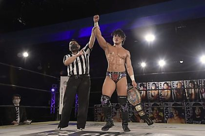Tetsuya Endo Wants To Defend DDT Openweight Championship Against ...