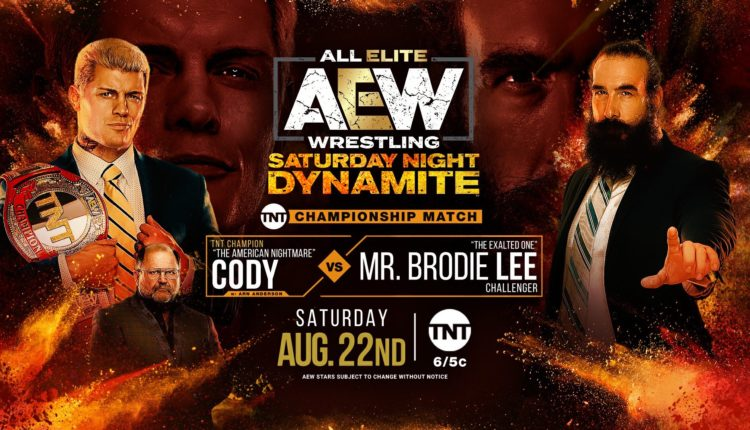 AEW Saturday Night Dynamite Results: Mr. Brodie Lee vs. Cody Rhodes [TNT Championship Match]