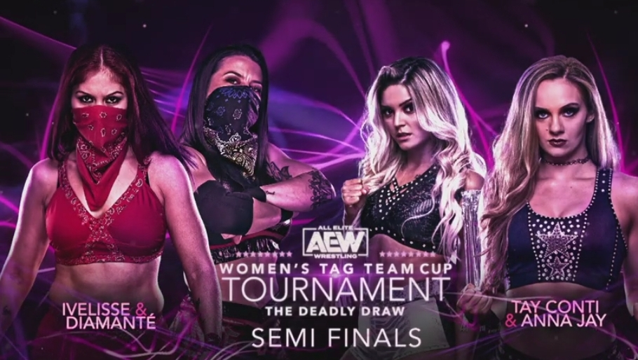 AEW Deadly Draw Tournament: Anna Jay & Tay Conti vs. Diamante & Ivelisse