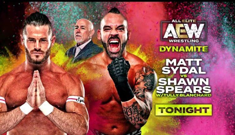 AEW Late Night Dynamite Results: Matt Sydal vs. Shawn Spears