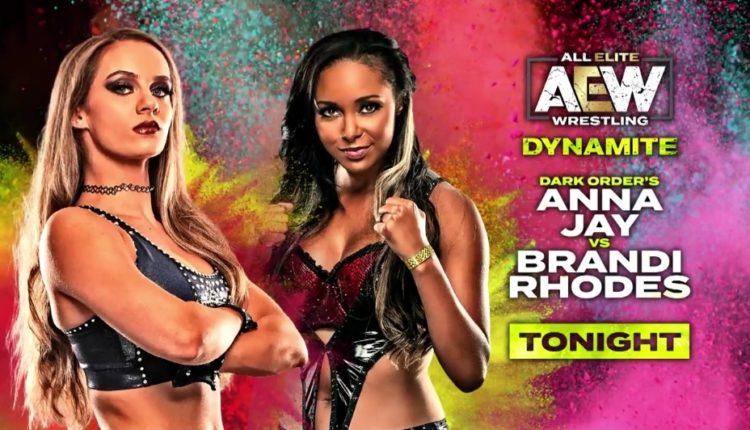 AEW Late Night Dynamite Results: Anna Jay vs. Brandi Rhodes