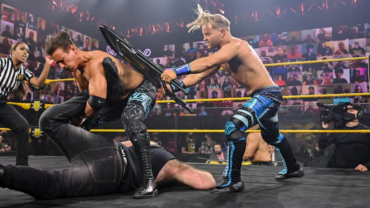 WWE NXT Results: Drake Maverick & Killian Dain vs. Ever-Rise - The Overtimer