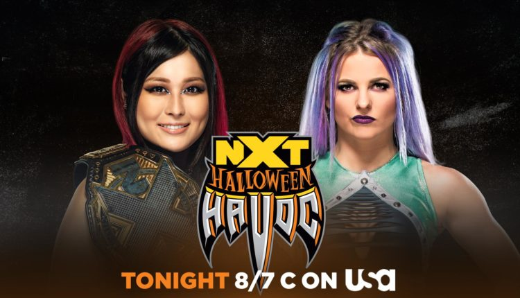 WWE NXT Halloween Havoc Preview [Johnny Gargano vs. Damien Priest, Candice LeRae vs. Io Shirai]