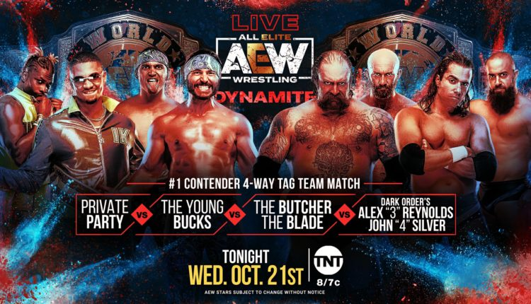 AEW Dynamite Results: Young Bucks vs. Private Party vs. Silver & Reynolds vs. The Butcher & The Blade
