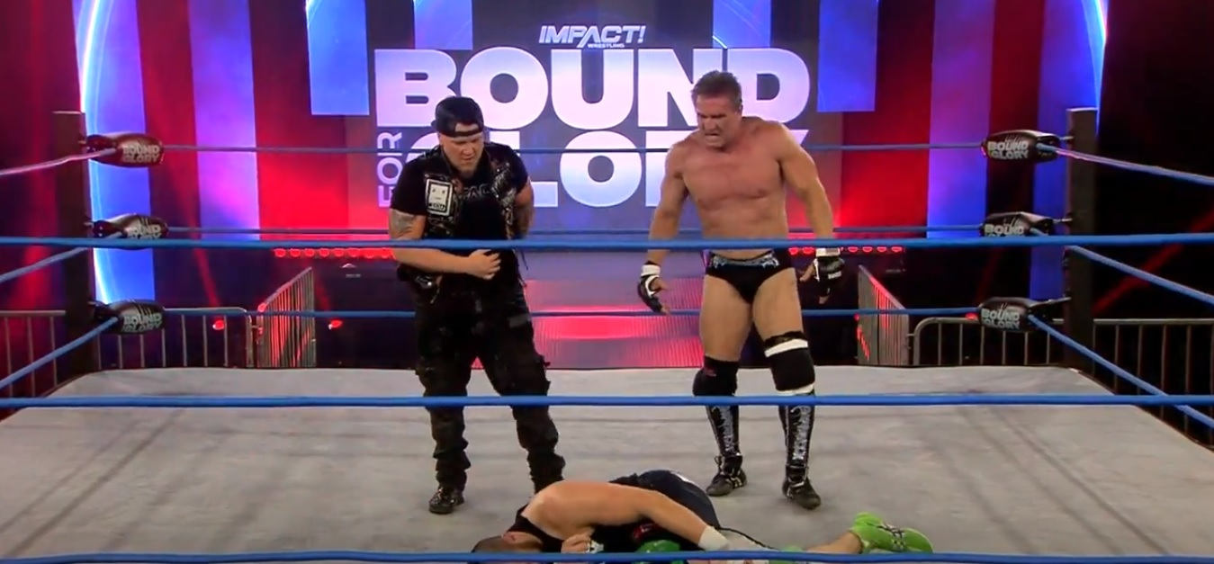 Impact Wrestling Bound For Glory Results (10/24) - Ken Shamrock (w/Sami Callihan) Defeated Eddie Edwards by submission