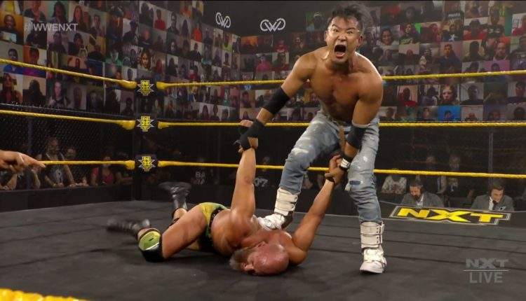 WWE NXT Results: KUSHIDA vs. Tommaso Ciampa - The Overtimer