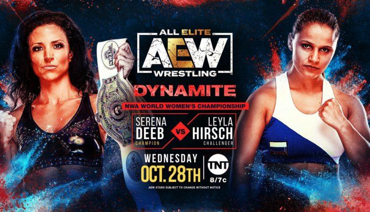 AEW Dynamite Results: Leyla Hirsch vs. Serena Deeb [NWA Women's Championship Match]