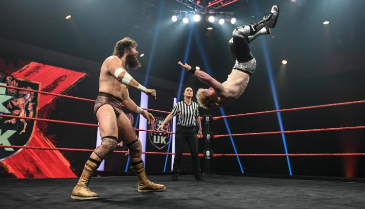 NXT UK Results: Saxon Huxley vs. Jack Starz