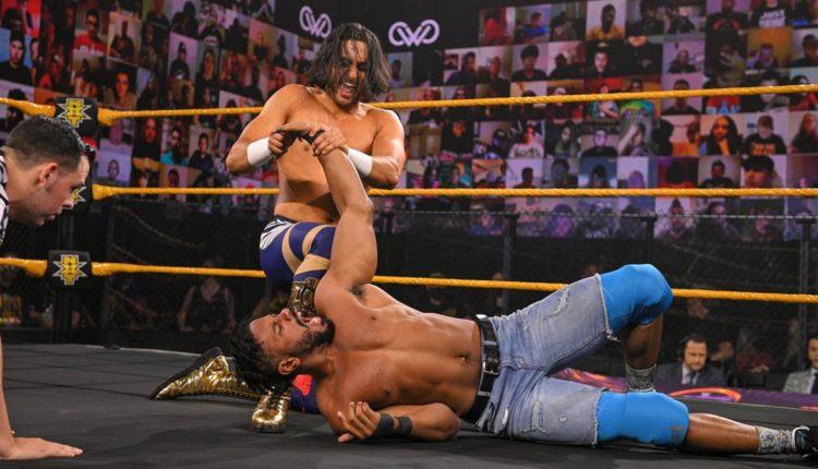 WWE 205 Live Results: Ashante Adonis vs. Mansoor