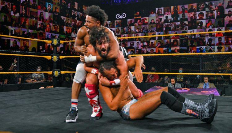 WWE 205 Live Results: Ashante Adonis vs. Curt Stallion vs. August Grey vs. Tony Nese vs. Ariya Daivari