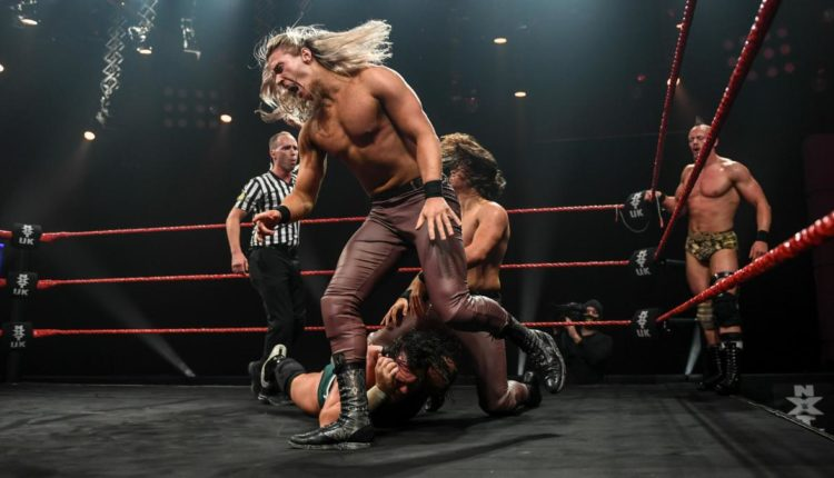 NXT UK Results: Pretty Deadly & Sam Gradwell vs. Gallus