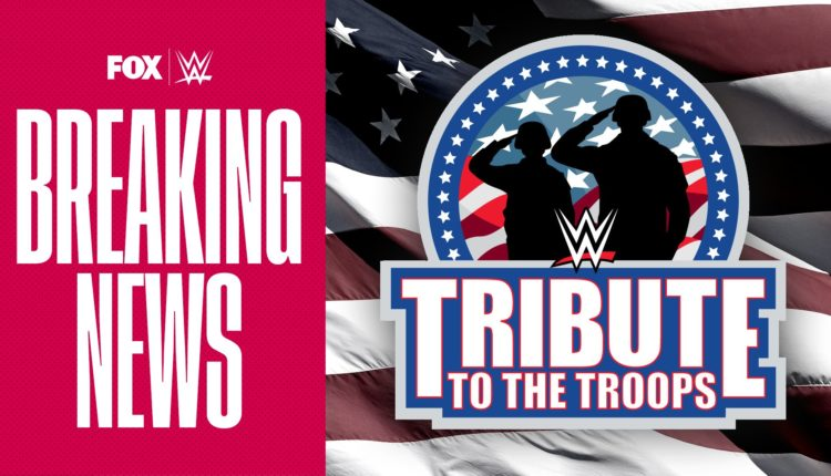 WWE Announces Tribute To The Troops 2020 - The Overtimer