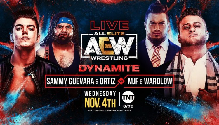 AEW Dynamite Results: Inner Circle (Ortiz & Sammy Guveara) vs. MJF & Wardlow