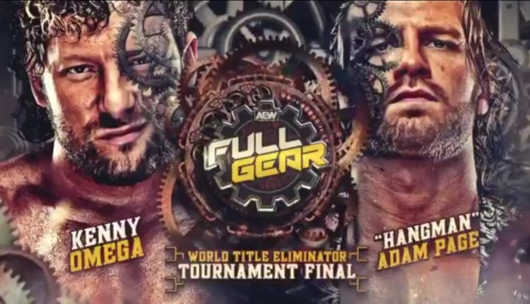 AEW Full Gear Results: Hangman Page vs. Kenny Omega [AEW World Title Eliminator Tournament Finals]