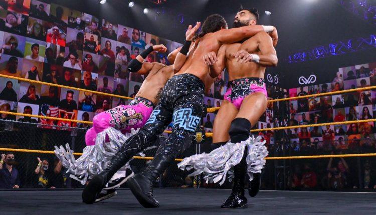 WWE 205 Live Results: Ever-Rise vs. Bollywood Boyz [Tornado Tag Team Match]