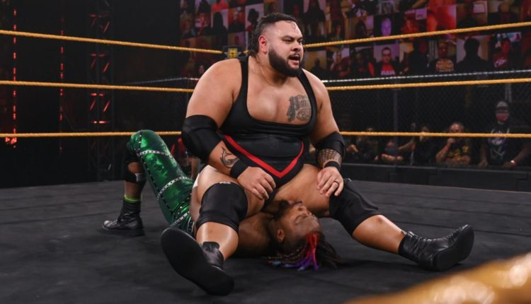 WWE NXT Results: Bronson Reed vs. Isaiah 'Swerve' Scott
