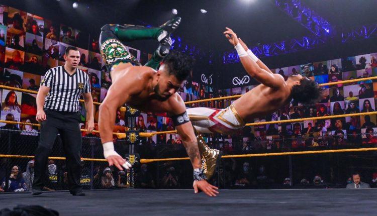 WWE 205 Live Results: Mansoor vs. Raul Mendoza