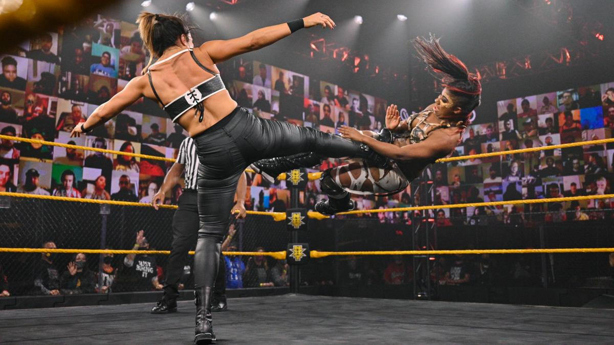 WWE NXT Results: Ember Moon vs. Raquel Gonzalez - The Overtimer