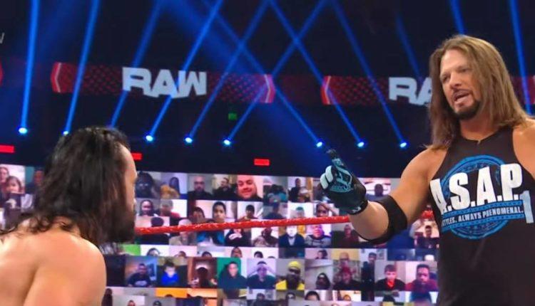 AJ Styles Drew McIntyre