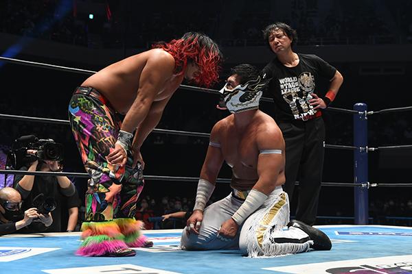 NJPW Best of Super Juniors & World Tag League Finals: Results & Ratings [Hiromu Takahashi vs. El Desperado, FinJuice vs. Guerrillas Of Destiny]