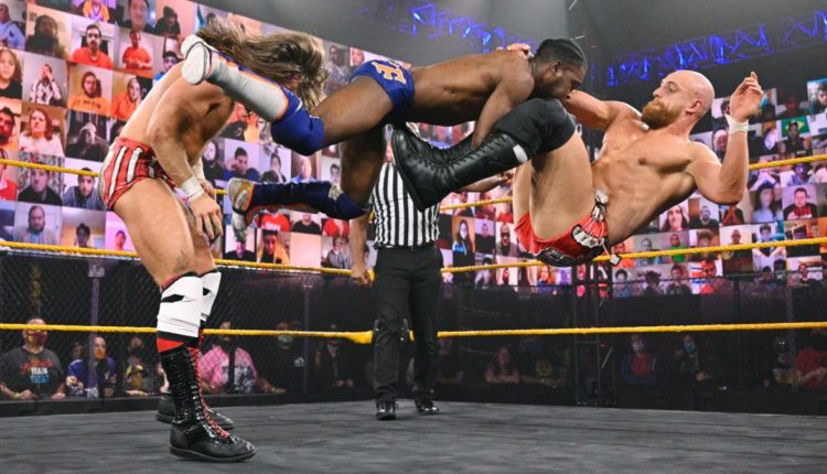 WWE NXT Results: KUSHIDA & Leon Ruff vs. Grizzled Young Veterans [Dusty Cup Match]