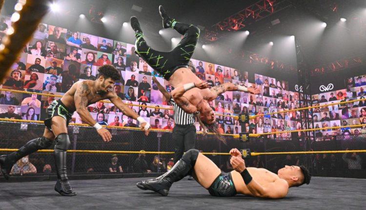 WWE NXT Results: MSK vs. Jake Atlas & Isaiah 'Swerve' Scott [Dusty Classic Match]