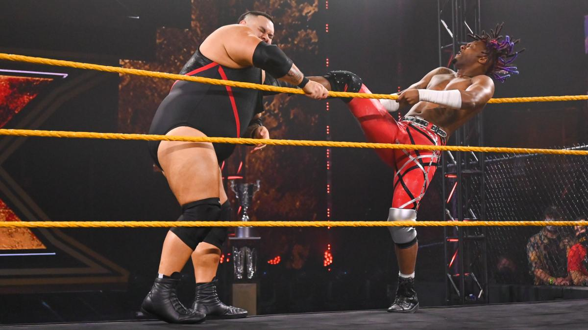 WWE NXT Results: Bronson Reed vs. Isaiah 'Swerve' Scott - The Overtimer