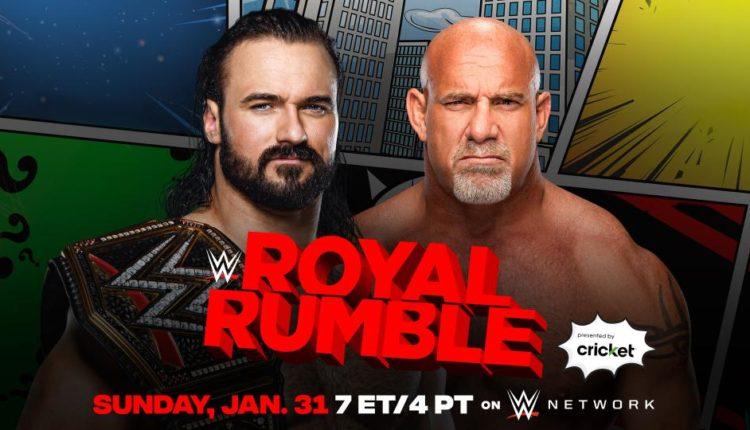 WWE Royal Rumble Results: Goldberg vs. Drew McIntyre [WWE Championship Match]