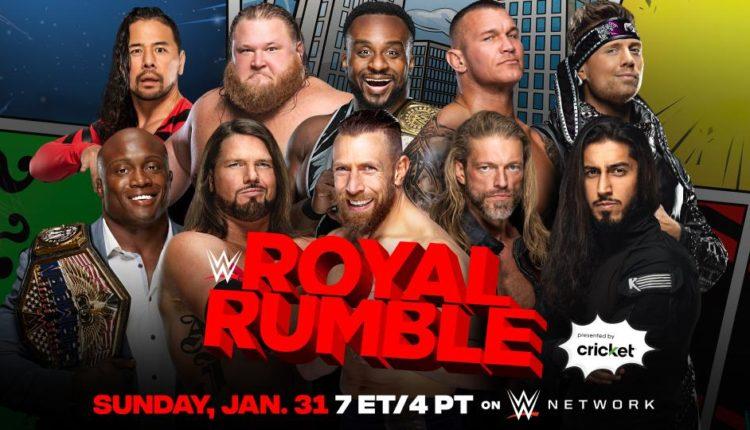 WWE Royal Rumble Results: Men's Royal Rumble Match