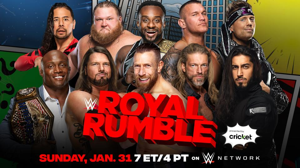 WWE Officially Announces Royal Rumble 2022 Pay-Per-View Event 2