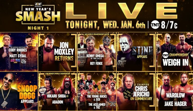 AEW New Years Smash Night One Preview [Kenny Omega vs. Rey Fenix, Hikaru Shida vs. Abadon, Cody Rhodes vs. Matt Sydal]
