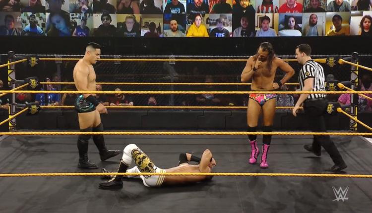 WWE 205 Live Results: Jake Atlas vs. August Grey vs. Ariya Daivari