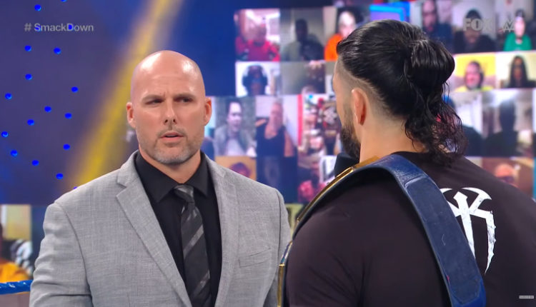 Adam Pearce Thanks WWE Fans For Believing In Him