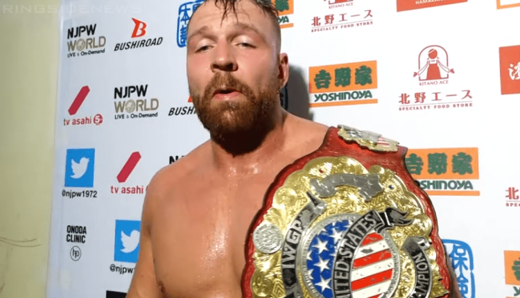 Should Jon Moxley Be Stripped Of The IWGP United States Championship?