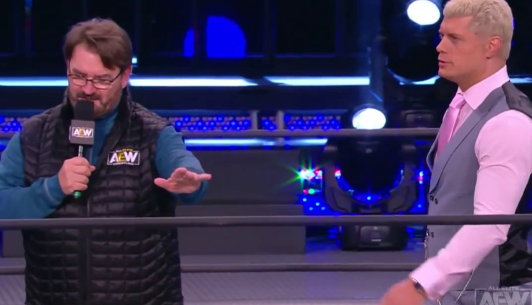 AEW Dynamite Results: Cody Rhodes Replies To The Challenge Of Shaq