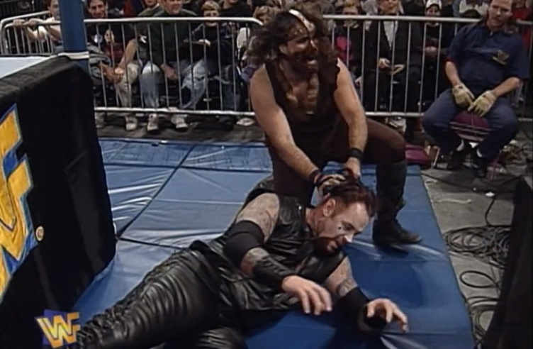 Undertaker vs. Mankind at Survivor Series 1996