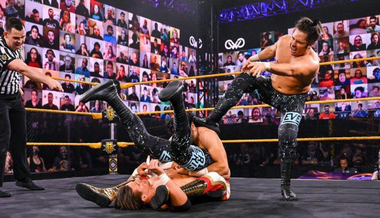 WWE 205 Live Results: Mansoor & Curt Stallion vs. Ever-Rise (Matt Martel & Chase Parker)